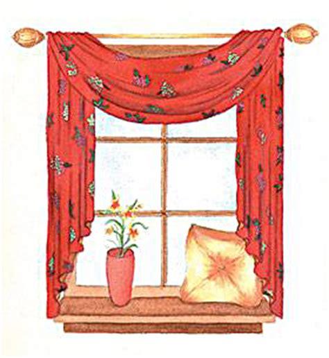 window scarf sewing pattern