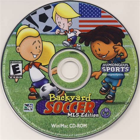 backyard soccer mls edition pc download backyard soccer mls edition 2001 macintosh box cover art mobygames gogo papa