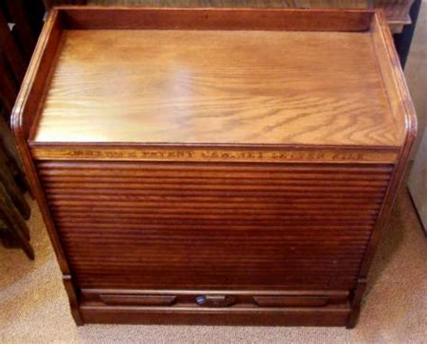 Wood Roll Up Cabinet Doors Amberg S Patent Wood Cabinet Letter File Tambour Roll Shutter Door 1881 Ebay