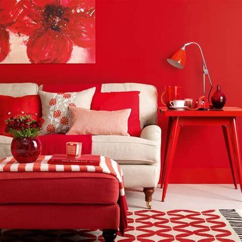color interior rojo carmes ideas para pintar las paredes de colores vivos