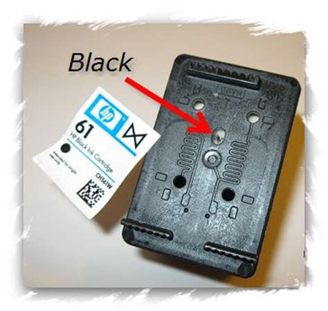how to reset hp deskjet 1050 printer cartridge hp 61 black refill instructions worth a try
