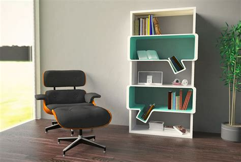 simple and creative bookshelves design home design