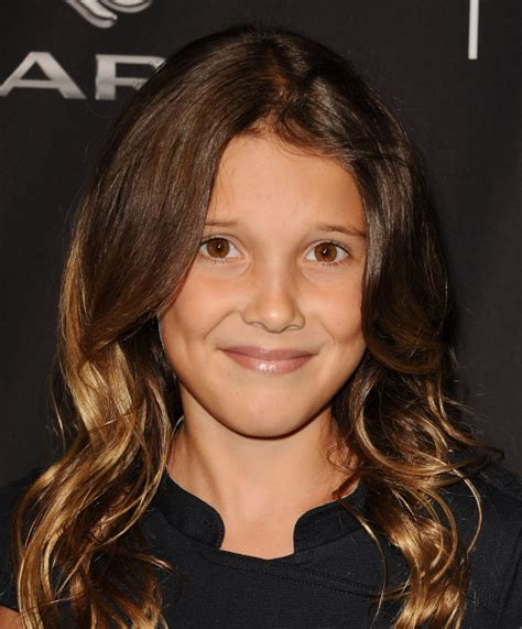 eleven actress age what quot eleven quot from quot stranger things quot looks like with her