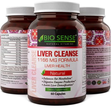 Vitamins For Liver Detox by Best Liver Detox Cleanse For And