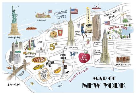 map new york city languages tait new york map print york