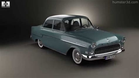 opel kapitan 1960 opel kapitan 1956 by 3d model store humster3d com youtube