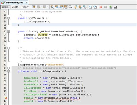 java swing reference swing java pass object from jframe to jpanel stack