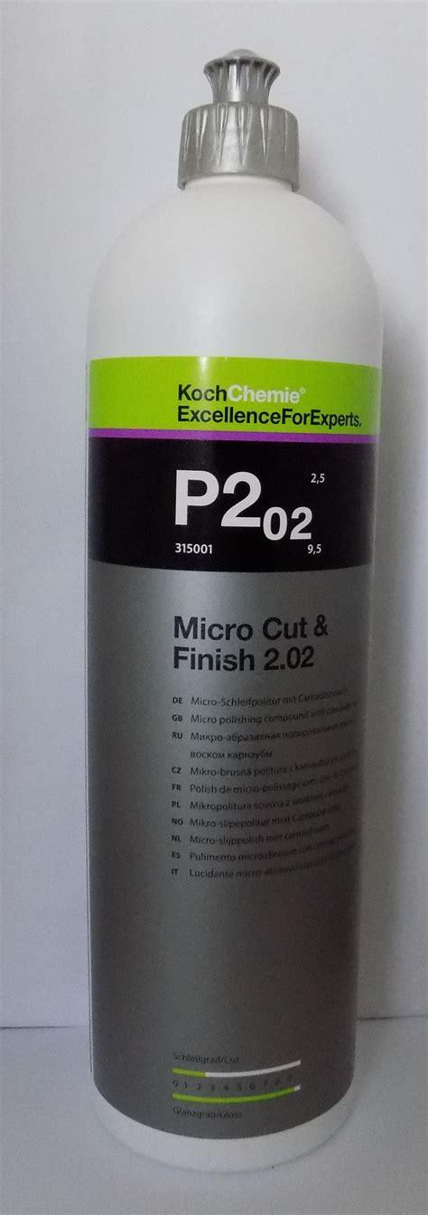 Koch Chemie Micro Cut Finish P2 02 koch chemie p2 02 micro cut finish feinschleifpaste 1 0