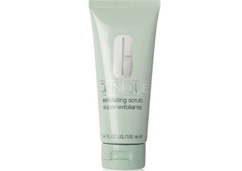 Clinique Exfoliating Scrub 5 best scrubs for skin india fashion