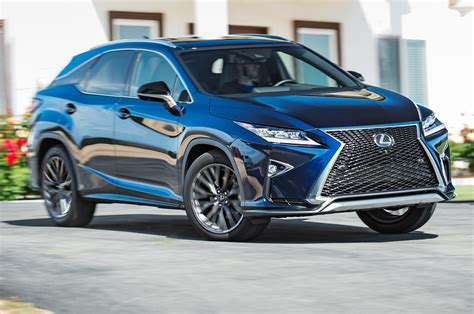 Lexus Rx 350 Sport 2016 Lexus Rx 350 F Sport Test Review Best Seat In