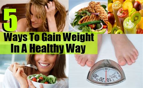 Ways To Gain Weight by 5 Ways To Gain Weight In A Healthy Way Diy Health Remedy