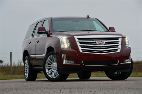 cadillac escalade 2017 2017 cadillac escalade platinum test drive review