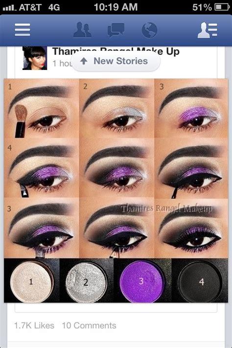 Harga L Oreal Infallible Spray purple smokey eye makeup tutorial makeup vidalondon