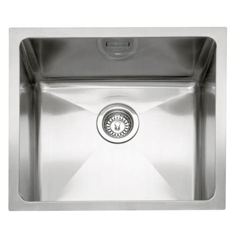 inset stainless steel kitchen sinks caple mode 45 stainless steel inset or undermount sink
