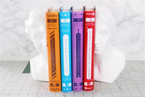 gradient books diy penguin drop cap book covers kavett
