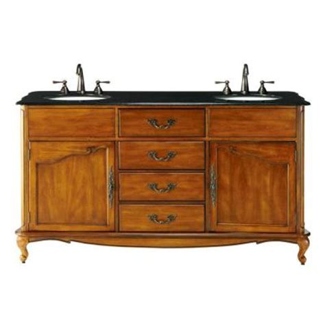 Two Sink Vanity Home Depot by Home Decorators Collection Provence 62 In W X 22 In D