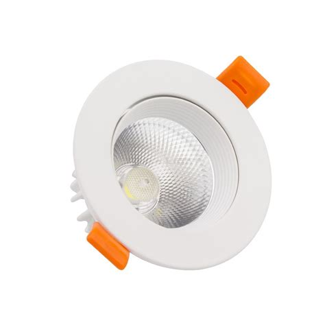 Senter Pena Cob Led 3w 450 Lumens spot led gu10 450 lumens avec option douille gu10 6w