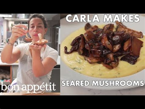 Bon Appetit Test Kitchen by How To Sear Mushrooms To Crispy Golden Perfection From