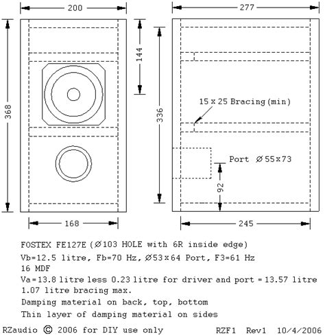 woodwork bookshelf speaker enclosure plans pdf plans