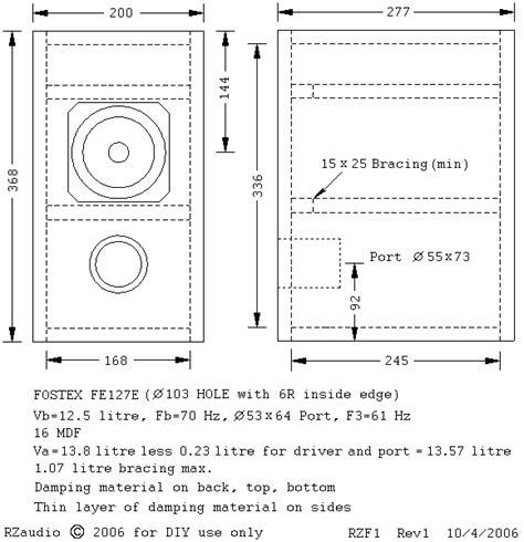 woodwork bookshelf speaker enclosure plans pdf plans
