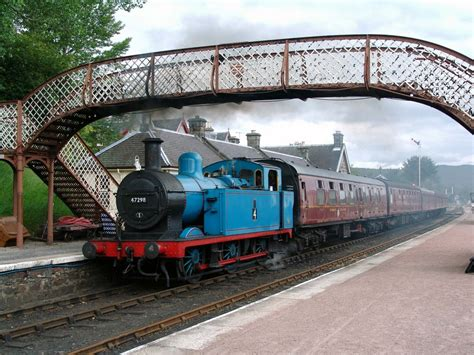 steam train boat of garten steam train at boat of garten station photo image