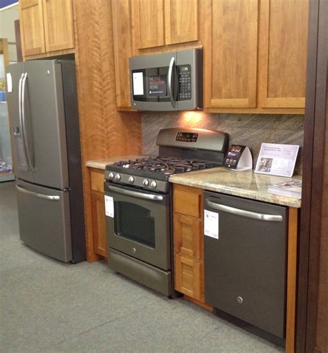 slate colored refrigerators slate kitchen appliances marceladick