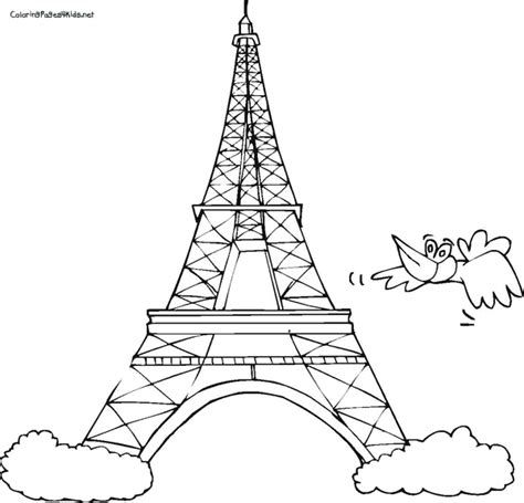 eiffel tower printable coloring page eiffel tower coloring pages bestofcoloring com