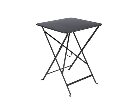 fermob bistro table liquorice 57x57 klevering