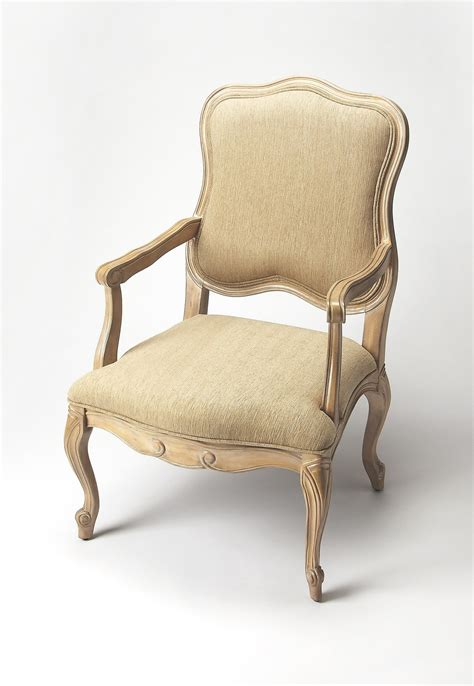 french shabby chic accent arm chair woodwaves