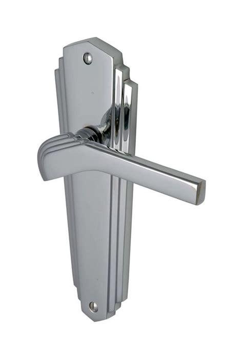 1930s Door Handles details about door handle pair waldorf lever on backplate sprung deco vintage 1930s chrome