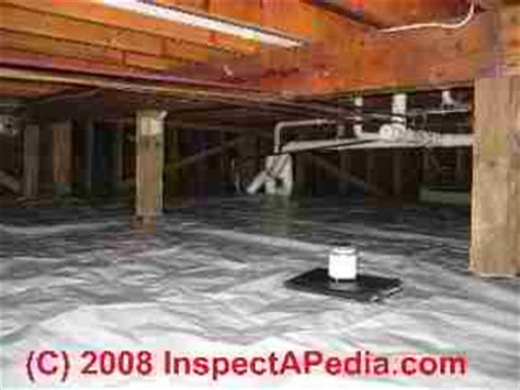 Dirt Floors Are The New Black by Crawl Space Moisture Barrier Choices Placement Where
