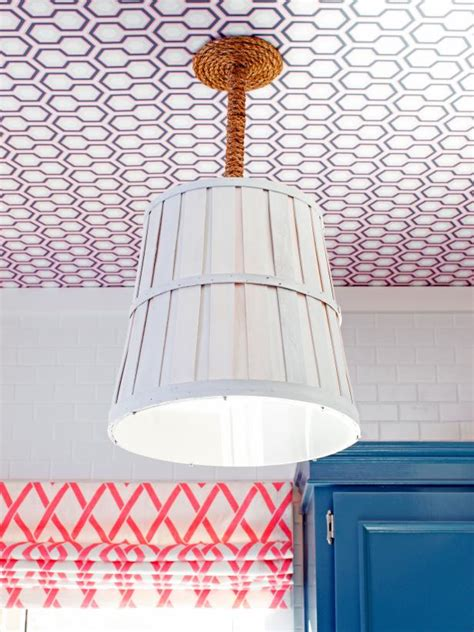 how to make light fixtures how to make a light fixture from a bushel basket how tos
