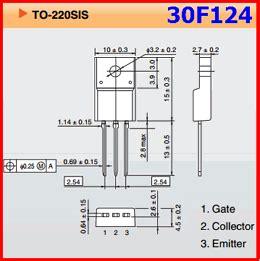 datasheet transistor gt30f124 transistor igbt 30f124 28 images jual transistor 30f124 yono elektronik 5pcs igbt