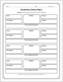 17 best images of fun vocabulary graphic organizer