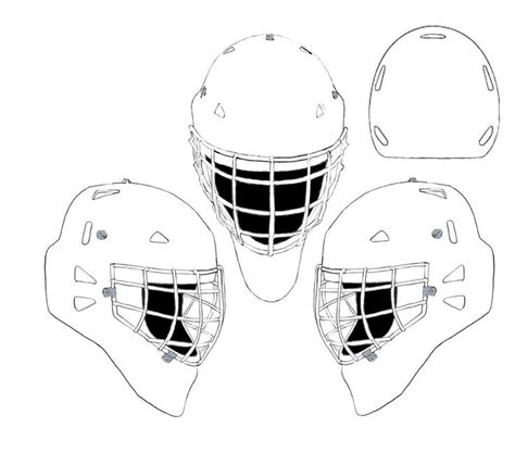 printable goalie mask 17 best coloriage hockey images on pinterest coloring