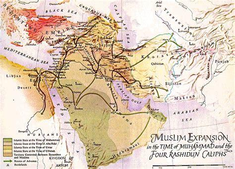 Hijrah Awesome muslim expansion map