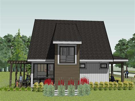 modern cottage plans drawing modern house plan modern