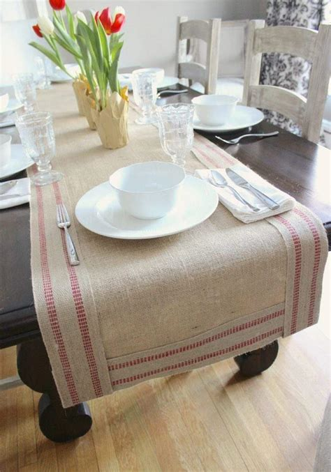 table runner ideas burlap table runner 23 inspiring ideas to enhance your