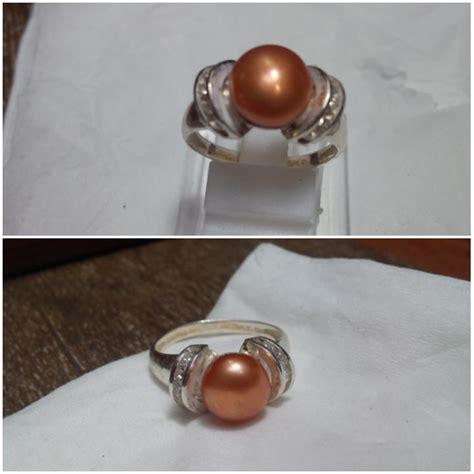 Cincin Handmade - desain cincin mutiara air tawar cincin perak handmade