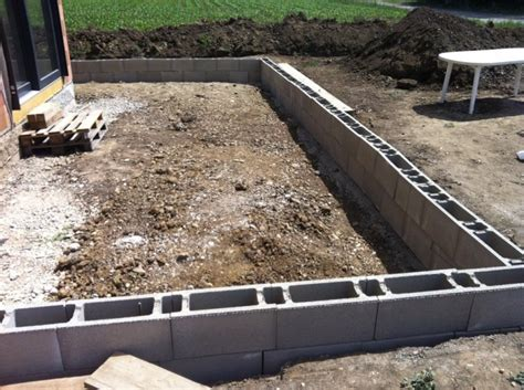 Garage Bauen Welche Steine 3217 by Passivhausblog 2 Reihen Schalsteine F 252 R Die Betonplatte