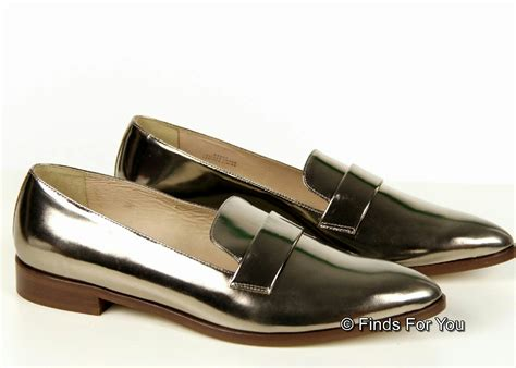 j crew silver loafers j crew metallic loafers 5 5 style b6922 238