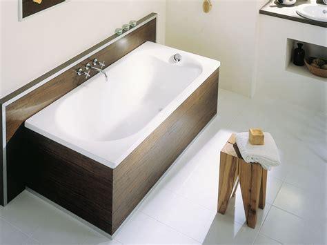 badewanne einbau einbau badewanne aus emailliertem stahl bettepur by bette
