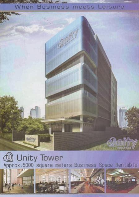 ruko disewakan disewakan ruang usaha office building  unity tower gading serpong