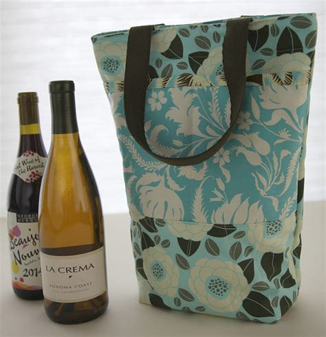 wine bag template two bottle wine bag tutorial sew sew