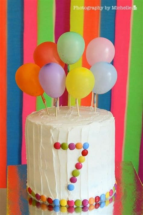 Birthday Cake And Balloons » Home Design 2017
