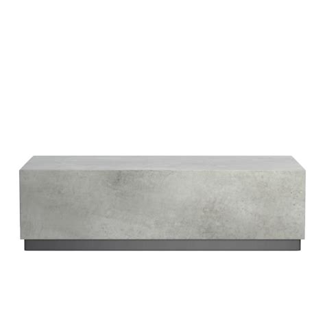 concrete outdoor coffee table concrete outdoor coffee table williams sonoma