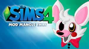 Mangle en los sims 4 mod five nights at freddy s 2 descarga gratis