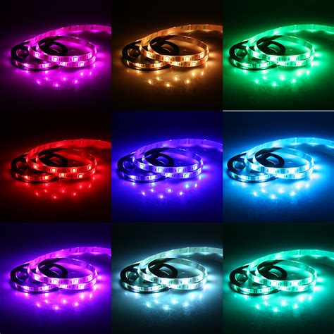 1 5m smd 5050 rgb led light color changing