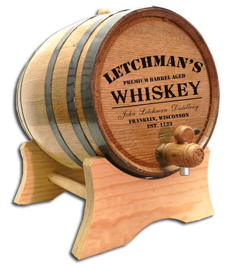barreled distillery 1 books personalized 20 liter whiskey barrel distillery barrel