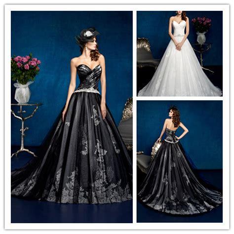 princess waist wedding dresses fashionable white black wedding dresses princess beaded